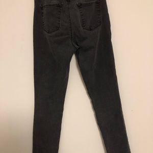 J Brand high rise gray jeans
